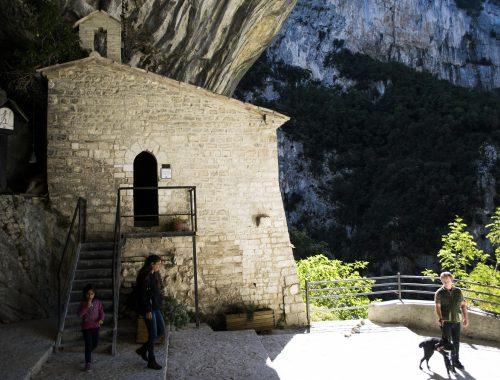 Tempio di Valadier - Parco Nazionale di Frassassi e Gole Rosse